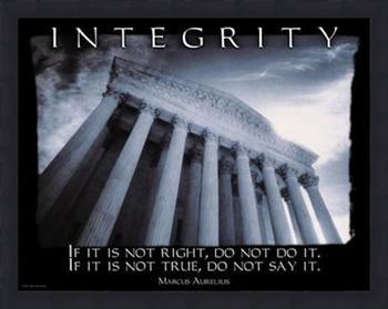 no integrity