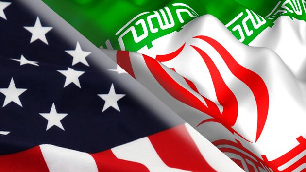 American- Iran flag