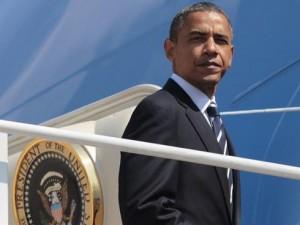 Barack Obama purple states