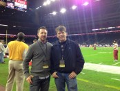 Chris Kidd and Kevin Price at Texas Bowl