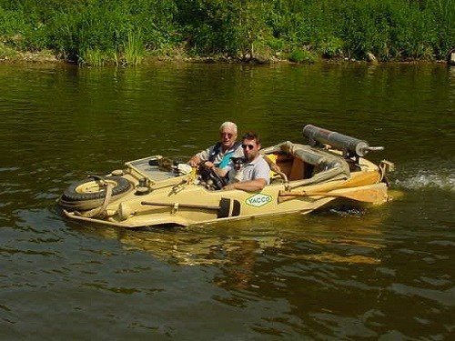 Schwimmwagen Go Anywhere Vehicle