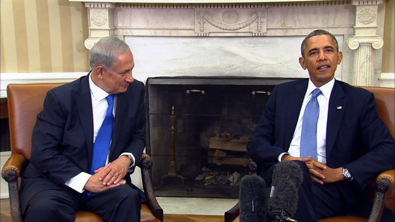 Pres. Obama and Israeli PM Netanyahu