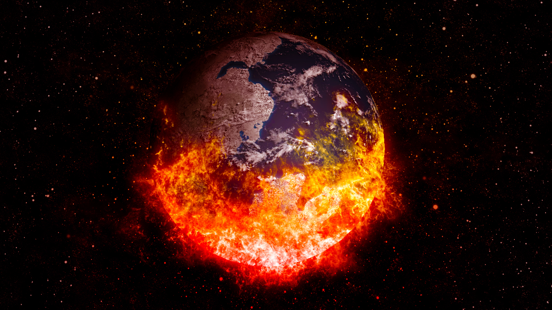 A world on fire us daily review - Intire decrution ...