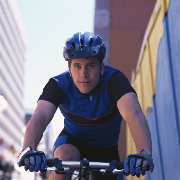 Kessler Institute for Rehabilitation man on bike
