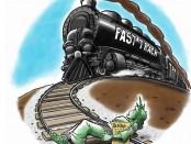 Stop Fast Track Train Liberty