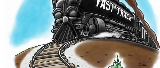 Stop Fast Track Train Liberty