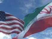 Iran-US-flags6