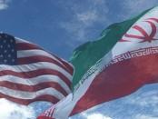 Iran-US-flags6