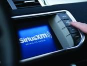 SiriusXM in-dash radio