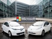 Nissan-and-Microsoft