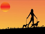 lady-with-dogs-free