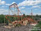 Californias Great America - RailBlazer