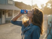 "Cindy Crawford in ""This Is The Pepsi"" 2018 ""Pepsi Generations"" TV Advertisement which will debut during Super Bowl LII (PRNewsfoto/PepsiCo)"