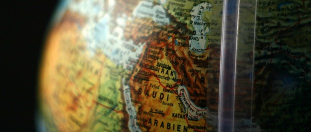 middle east globe free