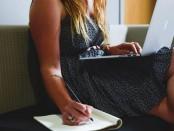 people-woman-girl-writing