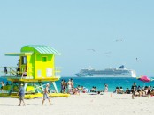 Miami Beach is the hottest destination famed for its picture-perfect beach views, historical Art Deco district, numerous restaurants with cuisine from all around the world, beautiful people, and famous nightlife.