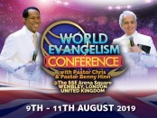 Announcing the World Evangelism Conference with Pastor Chris Oyakhilome (1)